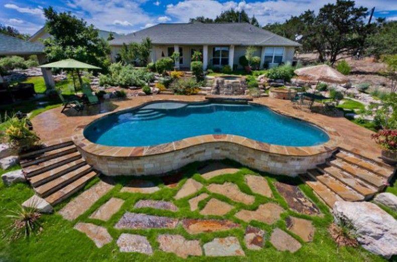 Pool Backyard Idea Interior Design Architecture And Furniture