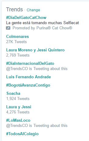 #DiaInternacionalDelGato hoy en la redes.