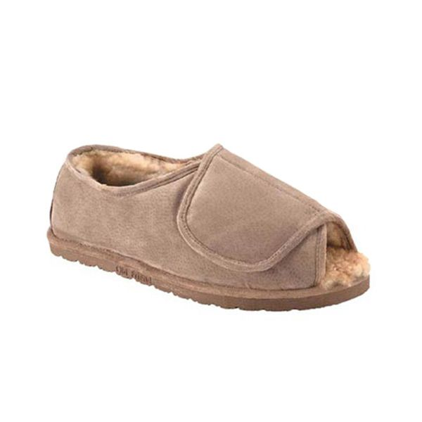0f1ed806a11 Velcro slippers for women