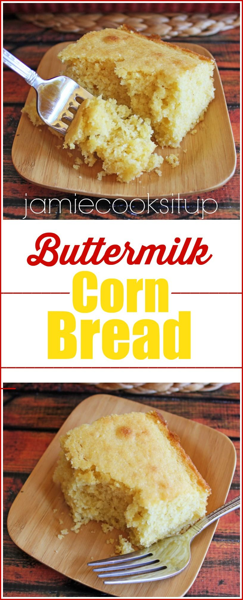 Buttermilk Corn Bread with Jamie Cooks It Up!