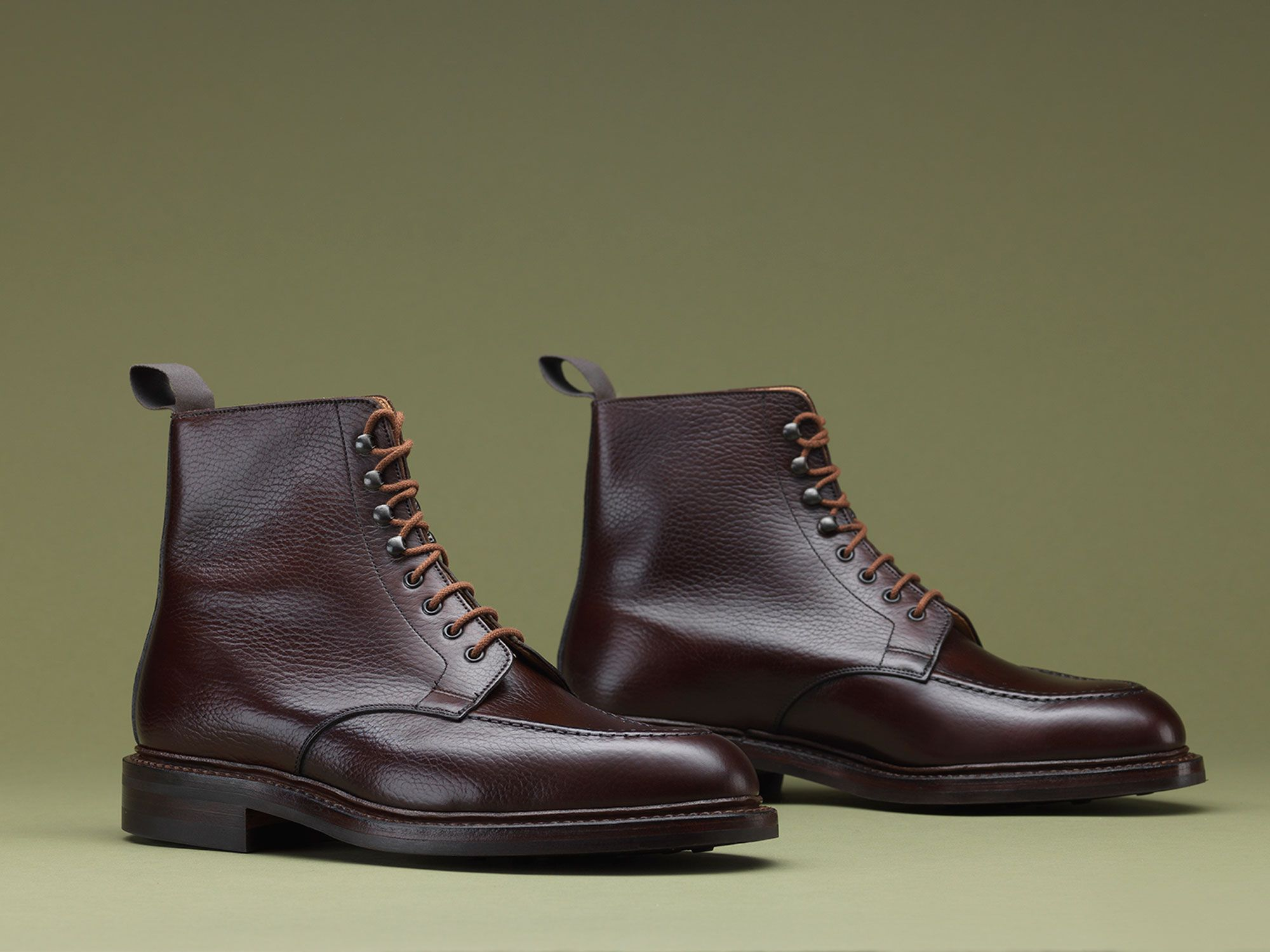 Galway 2, an apron fronted derby boot made from the finest country calf  leather with Dainite rubber soles. From the Men's Main Coll…   Boots men,  Boots, Men s shoes