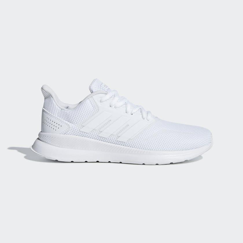 Runfalcon Shoes White Womens | Platform tennis shoes, White