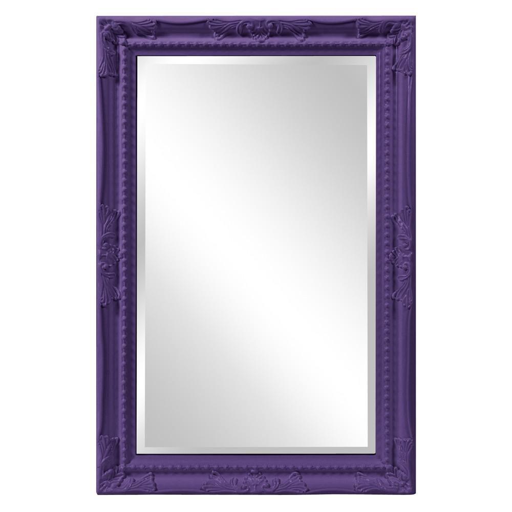 Photo of Queen Ann Rectangular Mirror 10 Color Choices – Royal Purple