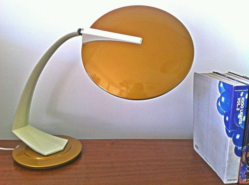 Küchenlampe modern ~ Fase madrid boomerang desk table lamp mid century modern lampe