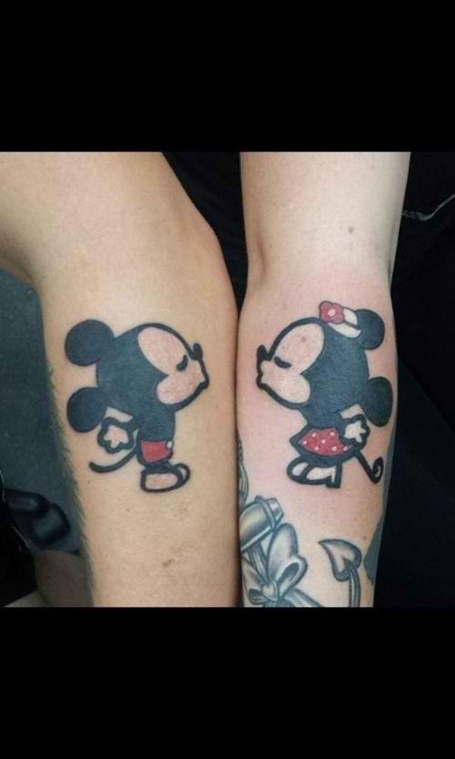 minnie&mickey tatt
