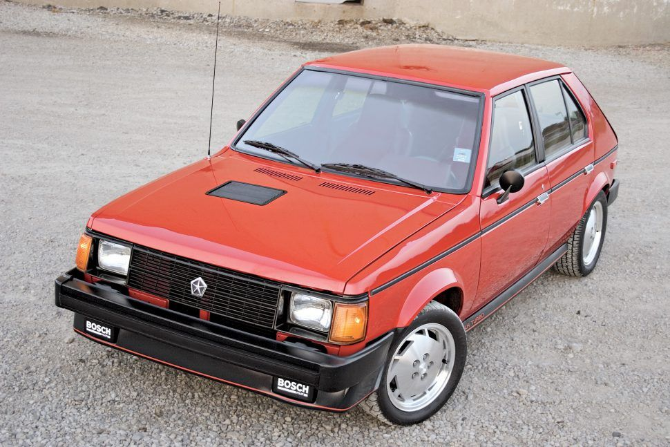 When Shelby tuned hot hatches for Chrysler The 1985̵