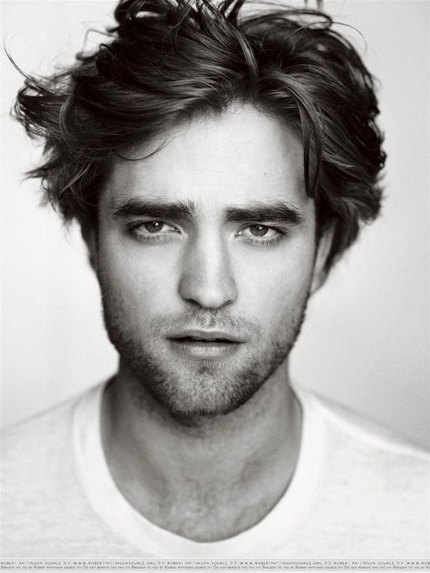 Bushy Eyebrows Are The Hottest Thing Ever Robert Pattinson Gq Portrait