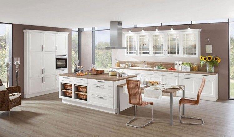 Rustikal \ romantisch - Landhausküchen versprühen einen - häcker küchen ausstellung