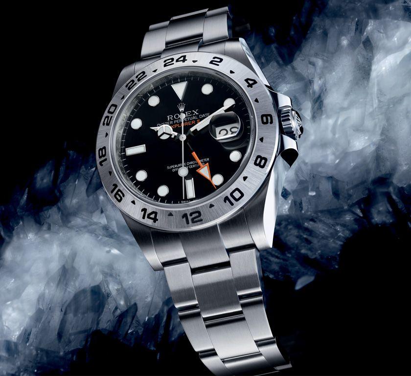 d1230ad35ce Rolex Explorer II Watch  History of the Explorer II