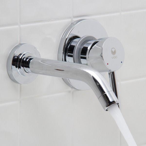 Vigo Bathroom Faucets vigo olus bathroom wall mount faucet in chromevigo | rust free