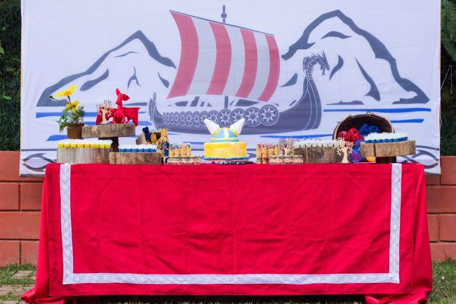 Festa Viking do Arthur