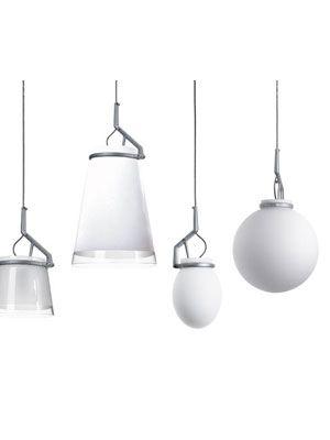 GlassGlass Pendants by Luceplan - LIGHT