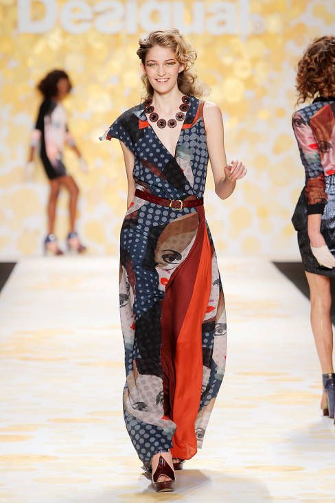 dca764342d4 Desigual Fall 2014 Ready-to-Wear Runway - Desigual Ready-to-Wear Collection   nyfw  new york fashion
