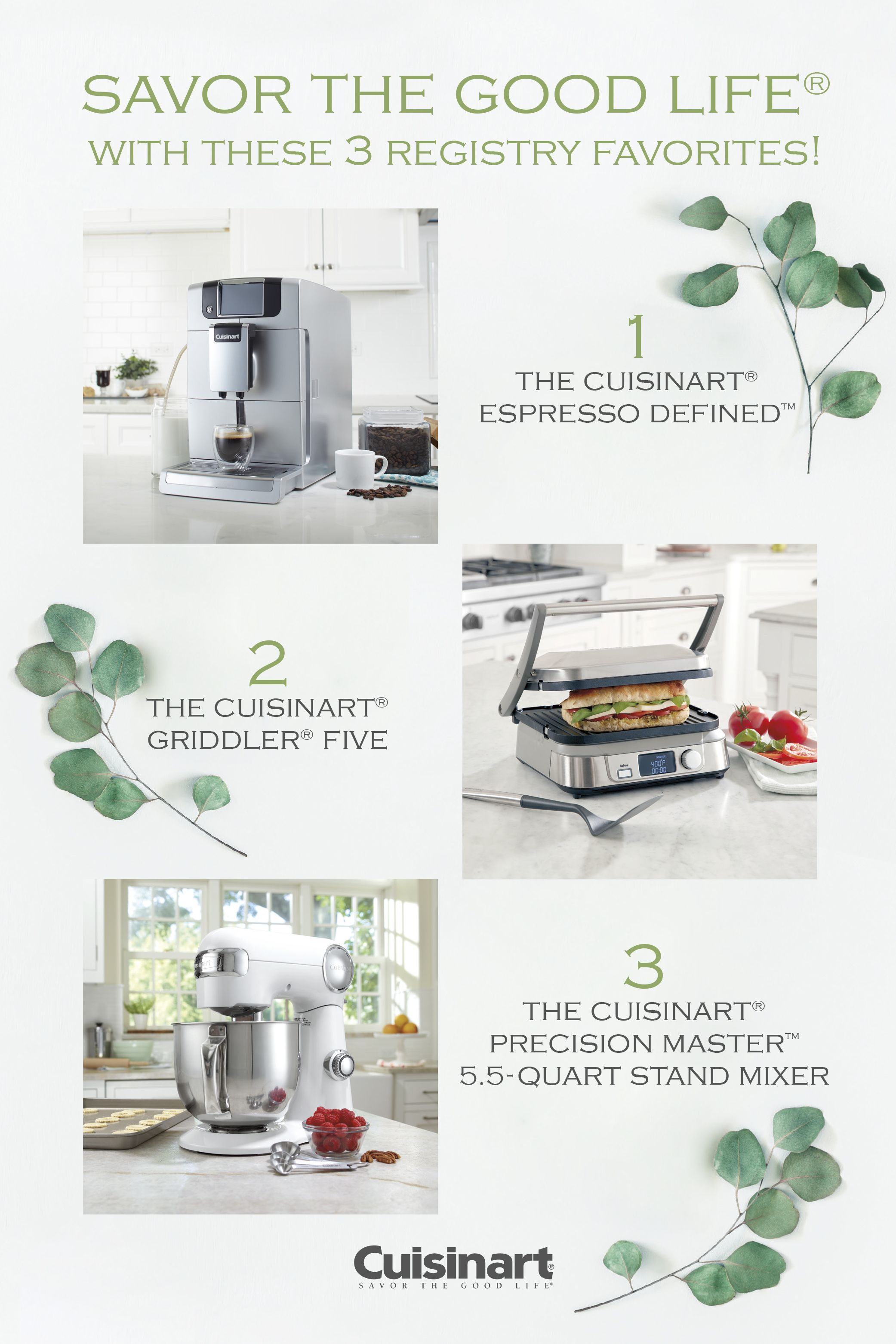 Registry Essentials From Cuisinart Featuring The Espresso Defined