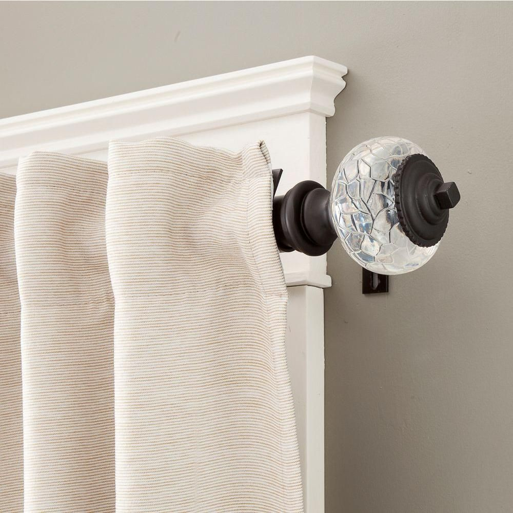 Kenney Parson 72 In 140 In Telescoping 1 1 4 In Curtain Rod