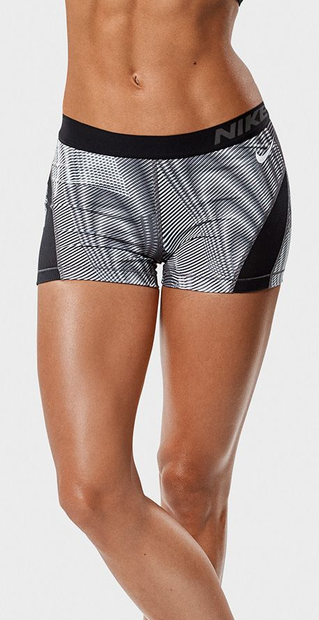 f186185df9cb Shorts that stay put. The Nike Pro Hypercool Frequency women's ...