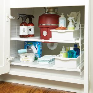 Addis Kitchen Sense Expandable Under Sink Storage Unit & Addis Kitchen Sense Expandable Under Sink Storage Unit | http ...