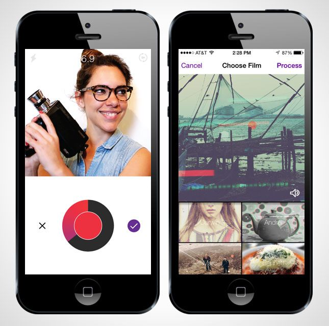 Beautify your videos with the Cinematic app.