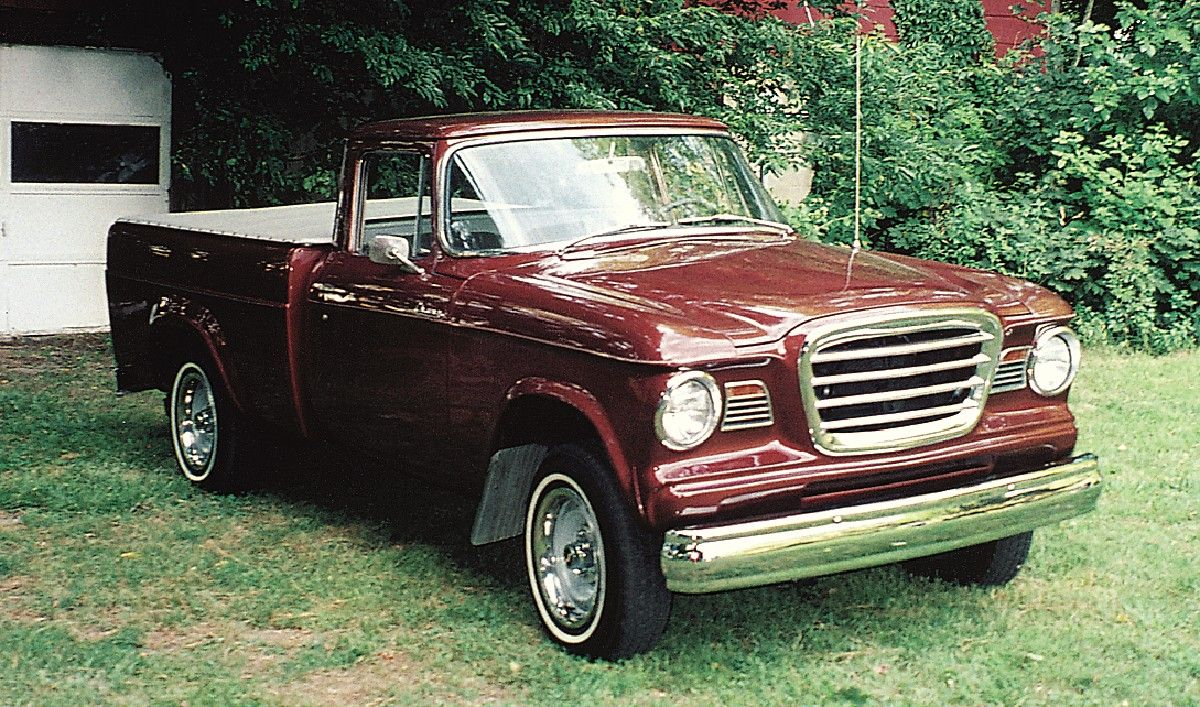 rare old pickups | For its owner, Studebaker truck is a true Champ ...