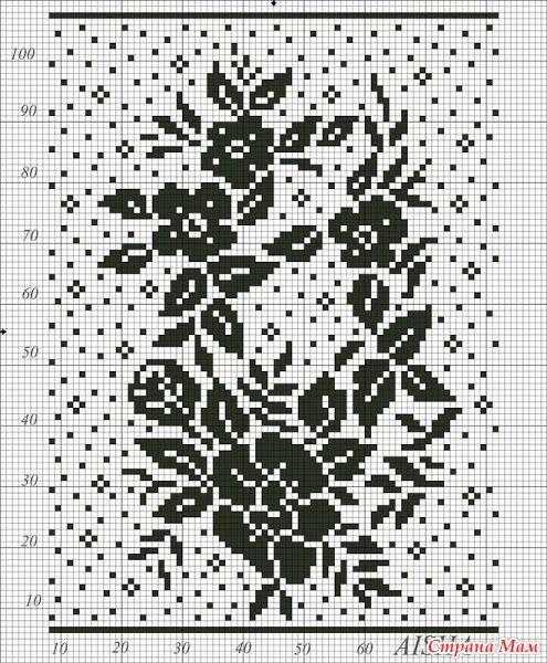 ". On-line skirt loin ""Constellation"" - all in openwork ... (crochet) - Home Moms"