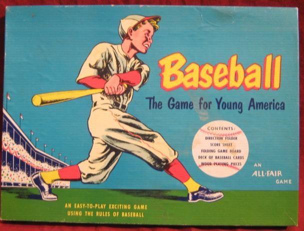 Vintage Baseball Games Antique Baseball Games Baseball Baseball Games Vintage Baseball