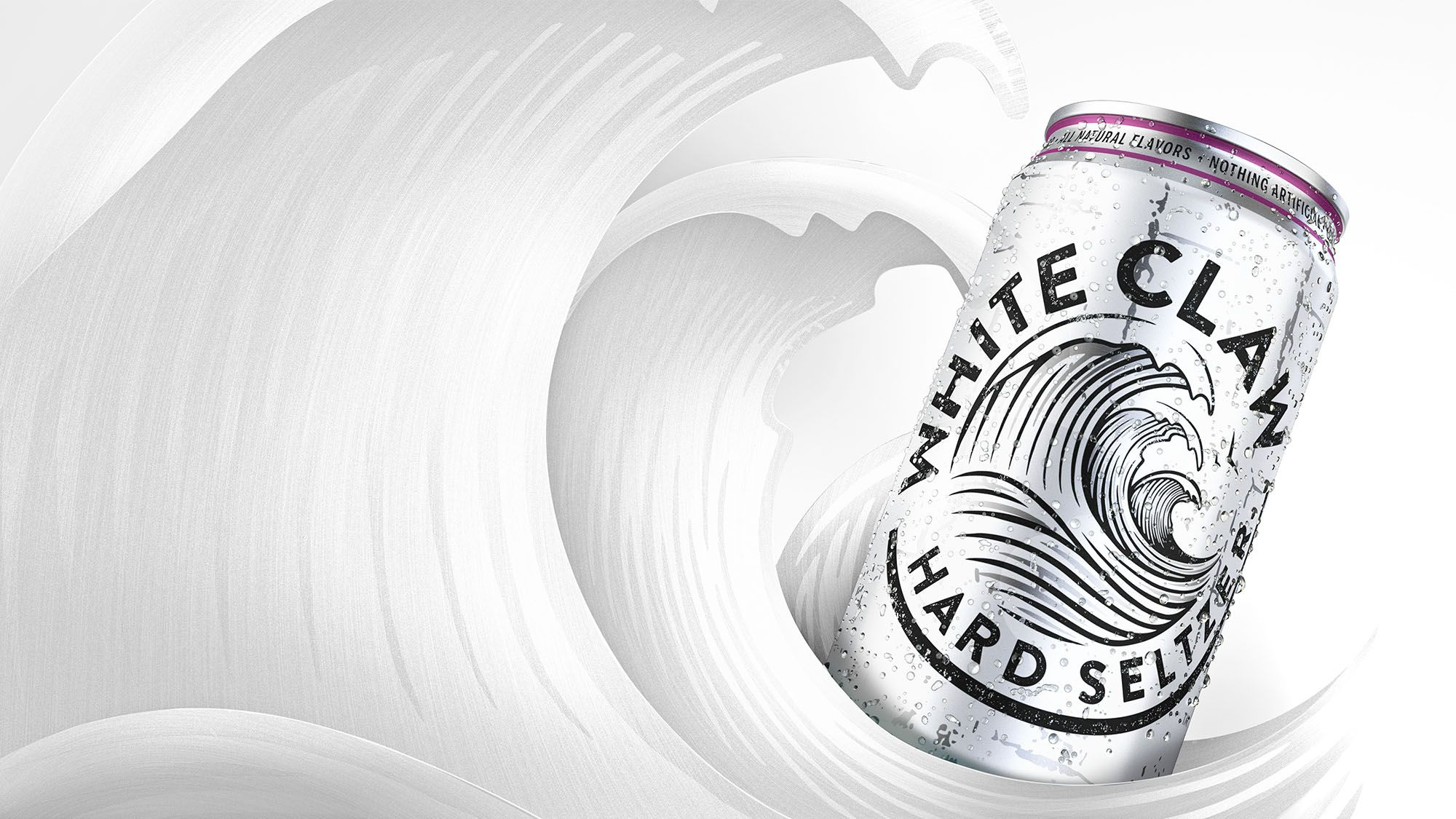 It's just a picture of Universal White Claw Hard Seltzer Label