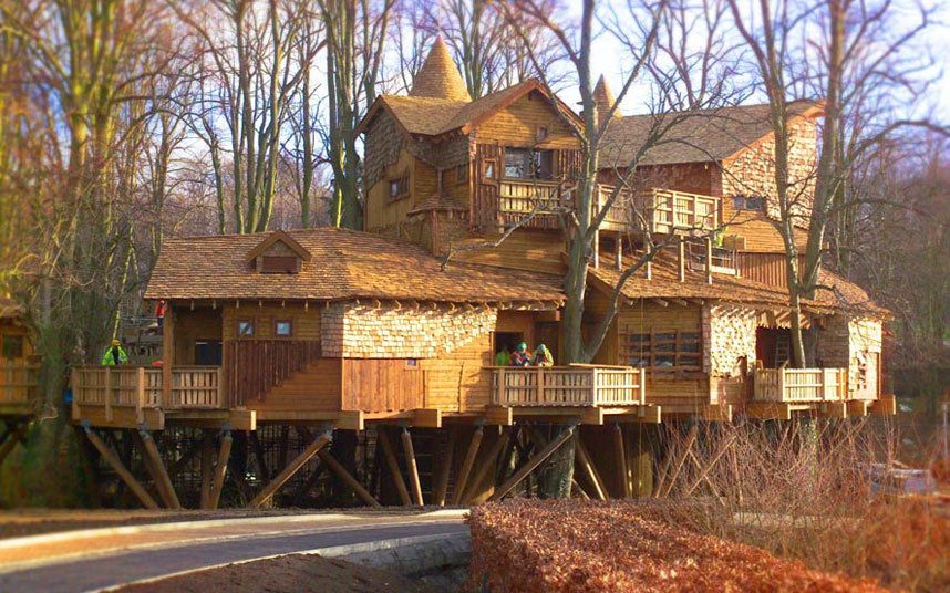 The Most Incredible Treehouses In The World Building A Treehouse Tree House House Styles