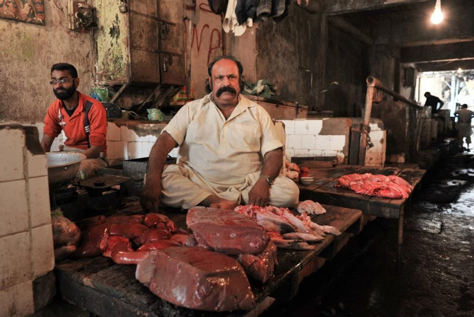 meat market in pakistan