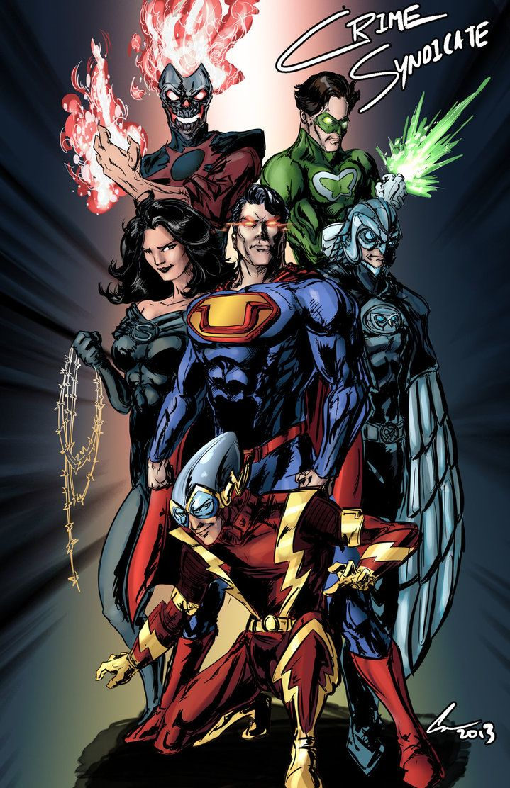 Crime Syndicate by randomality85 (Chris) | DC Characters ...