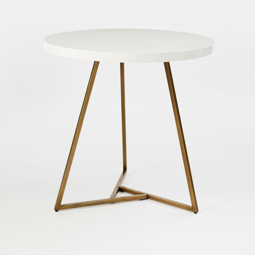 Lacquer Top Cafe Table In 2020 Cafe Tables Top Cafe Bistro Table