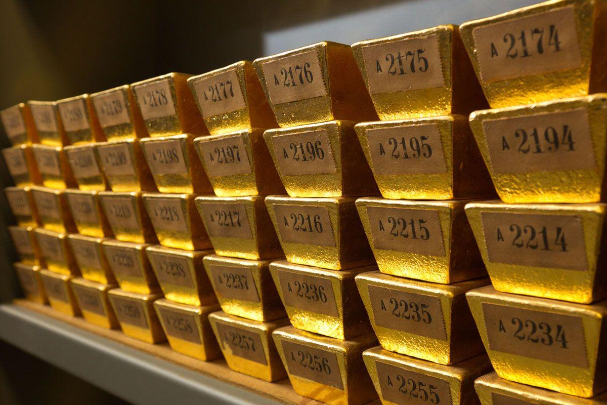 Das Gold in Ihrem Keller goldbarren im keller_energymag