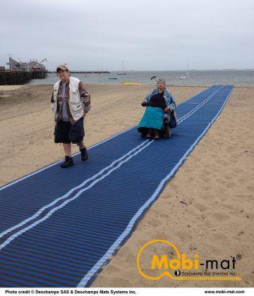 Mobi Mat Beach Access Mat Beach Outdoor Adaptive Sports