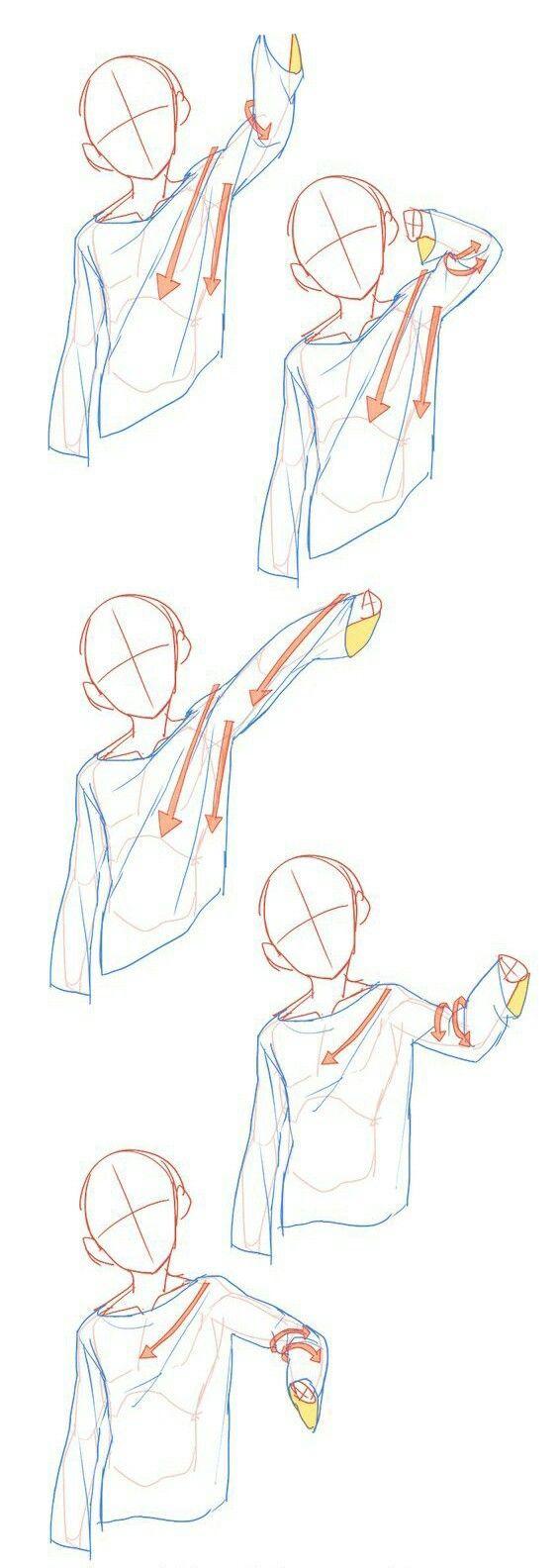 Dessiner un drapé au crayon