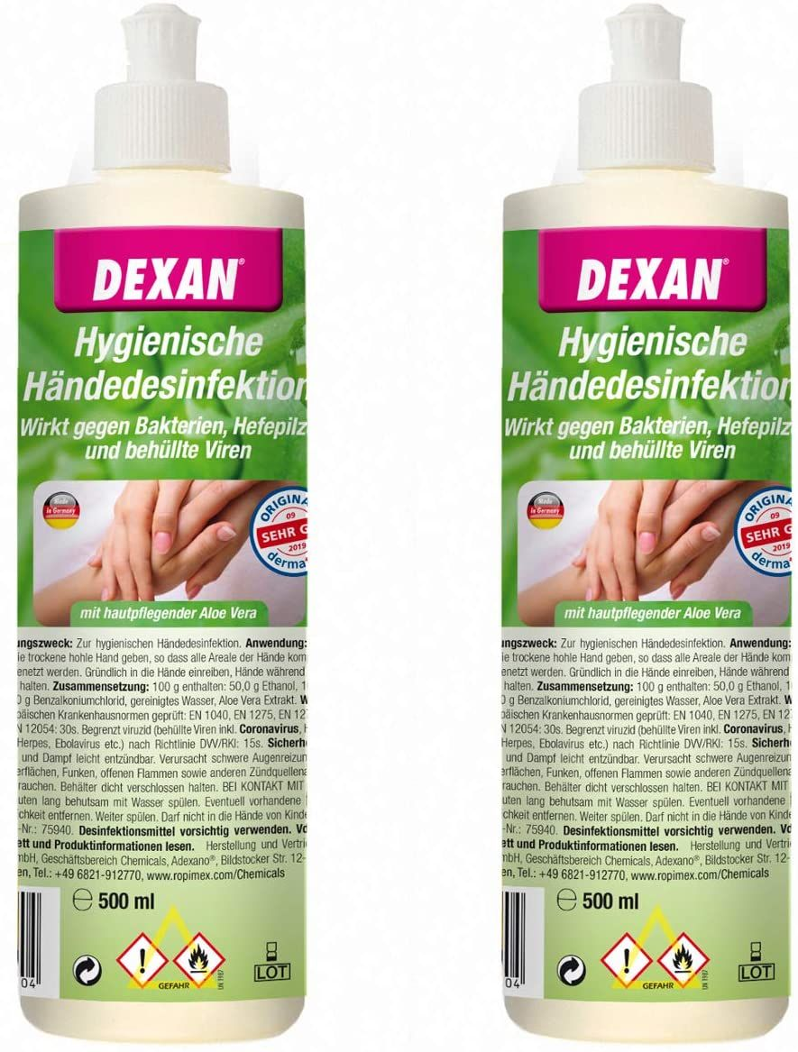 Fleckenspray Hollueco Textilschonend 1l Soap Bottle Cleaning