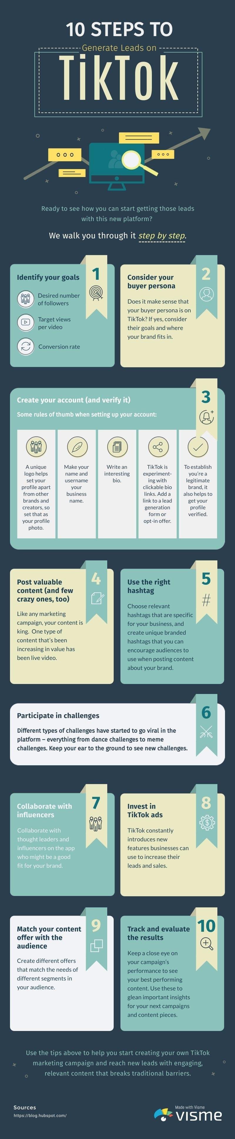 Tiktok Social Media Strategy 2020 Infographic In 2020 Infographic Infografieken Marketingstrategie