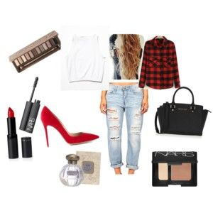 """""""Red"""" by scarlettr on Polyvore"""
