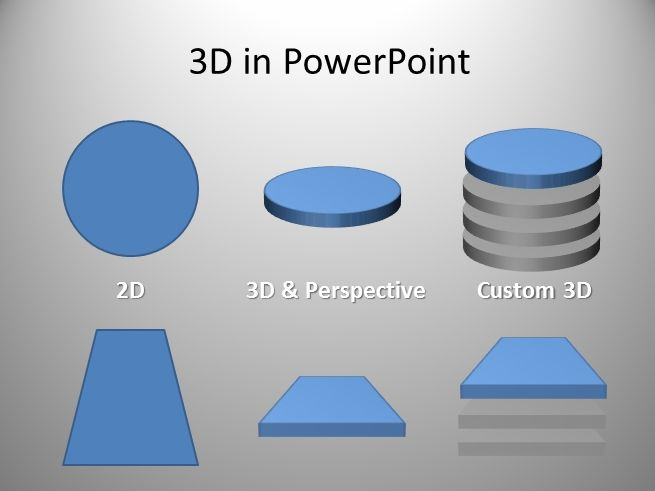 D Shapes PowerpointPptx Powerpoint Presentation Ppt  Pdf