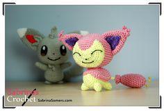 Free Tigger Amigurumi Pattern : Skitty pokemon free crochet pattern amigurumi ตุ๊กตาน่ารัก