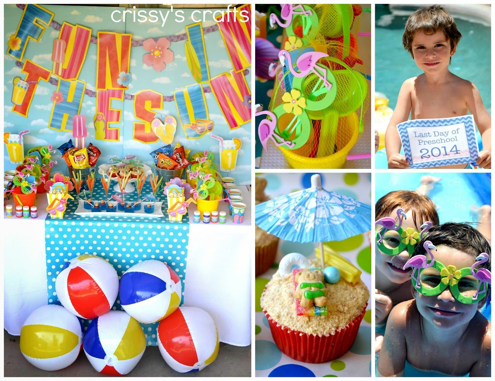 Crissy S Crafts Threw A Spectacular Quot Fun In The Sun Party