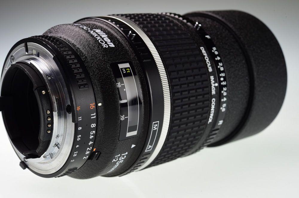 Nikon Af Dc Nikkor 135mm F 2 Excellent Nikon Lens Ebay