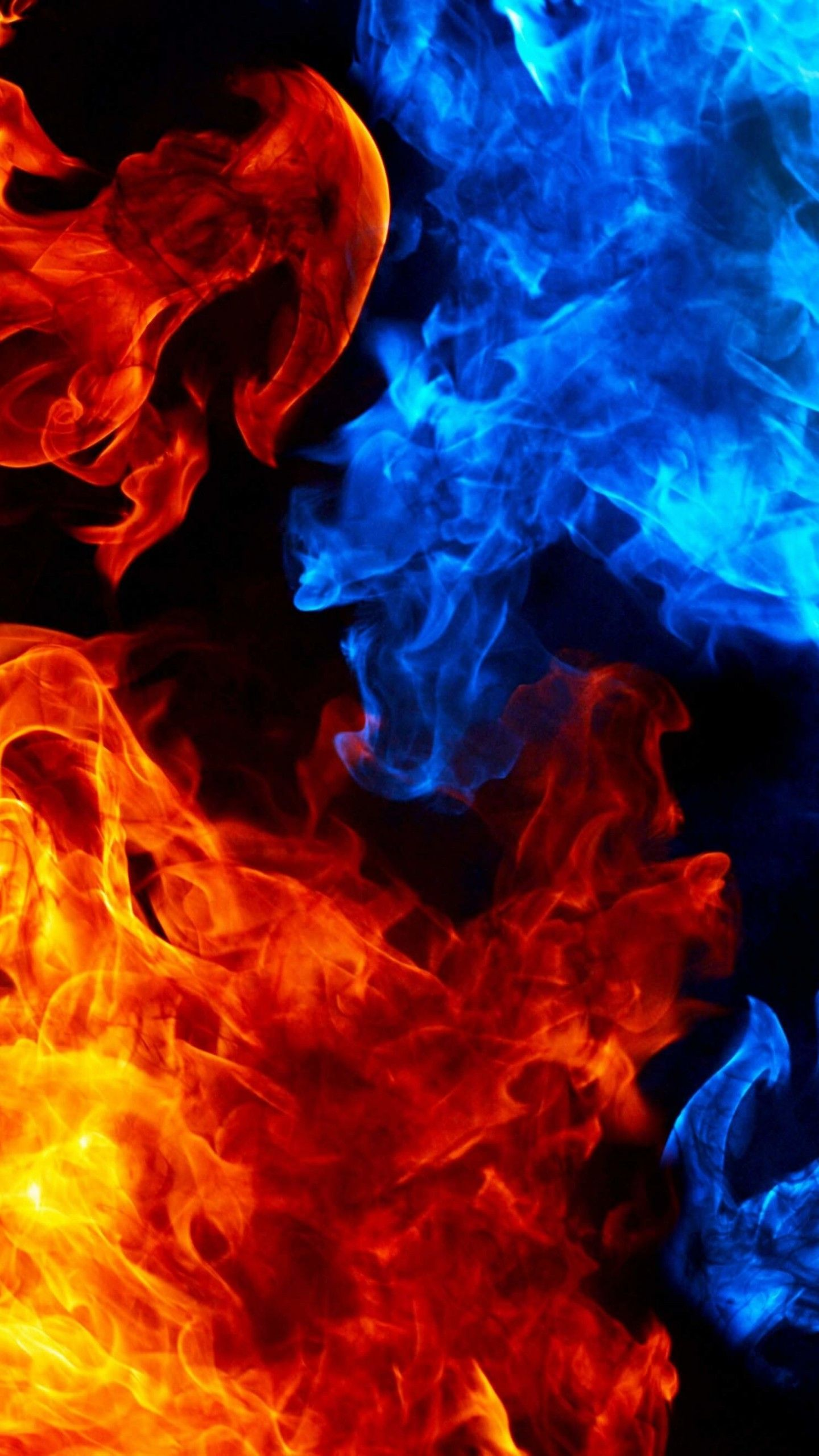 Red And Blue Fire Wallpaper Red And Black Wallpaper Red Wallpaper Blue Wallpapers