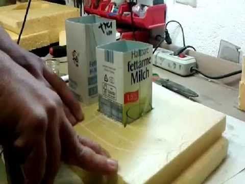 DIY - Beton gießen - Romantische Trittplatten, zauberhafte