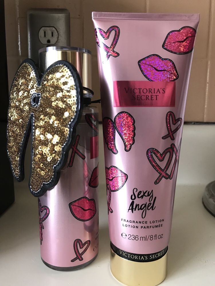 73cef4bc84ebd Victoria's Secret Sexy Angel Fragrance Mist & Lotion Set New ...