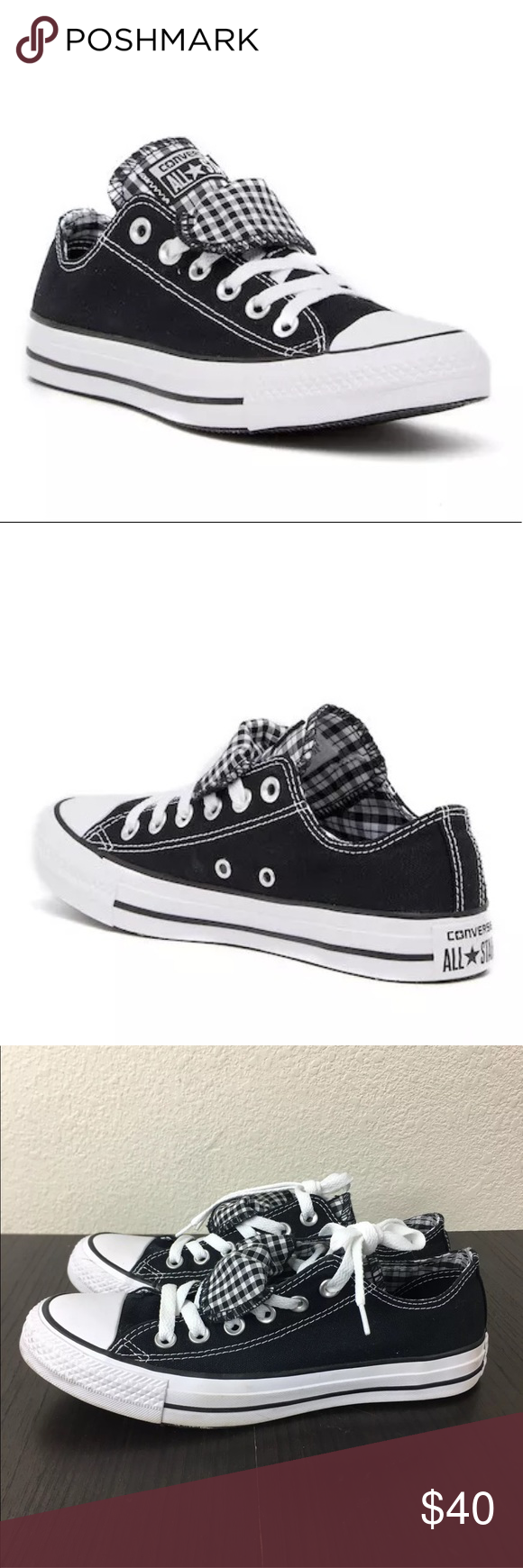 Converse Chuck All Star Double Tongue Sneaker 7 Womens