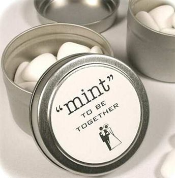 Mint To Be Together Wedding Favors Http Weddingwallpaper Net Personalized Tail Gles