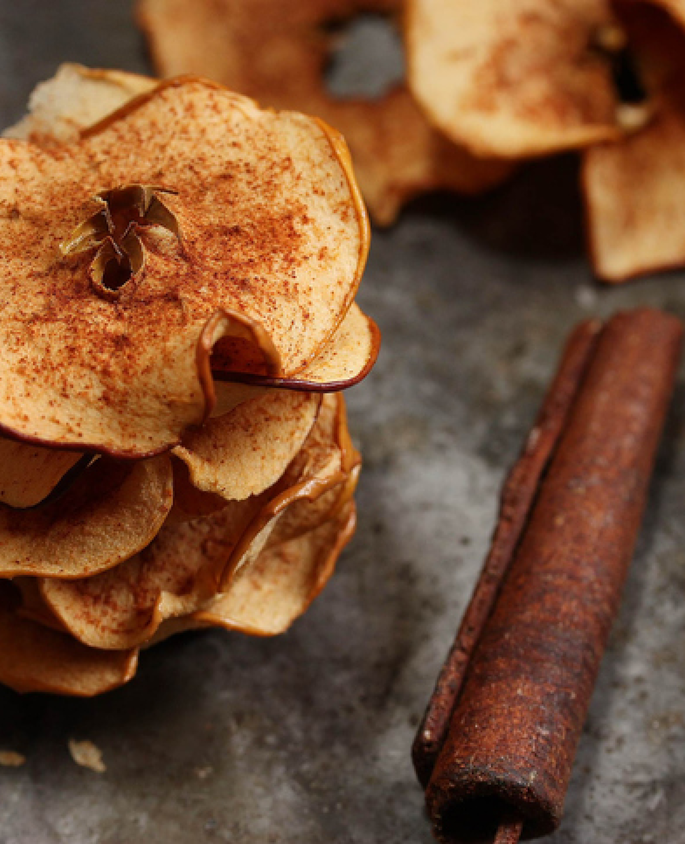 Kalorik Recipes Cinnamon Apple Slivers Air fryer