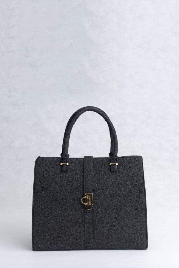 Τσάντα χειρός και ώμου μαύρη 8b4b41fc031