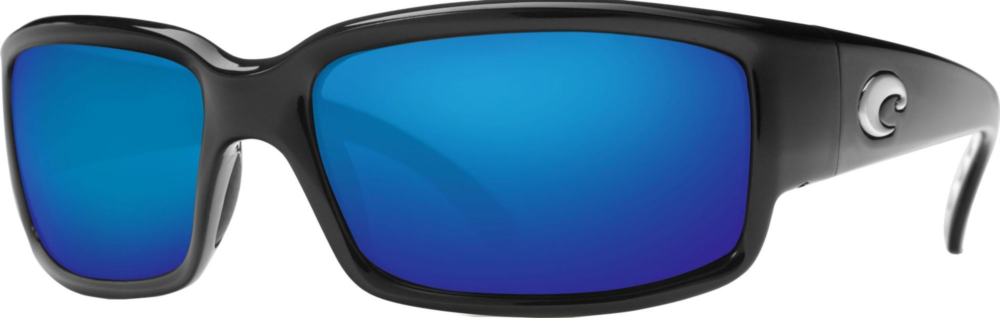 Costa Del Mar Caballito 580P Polarized Sunglasses, Black Blue Mirror ... 9e33398f9133