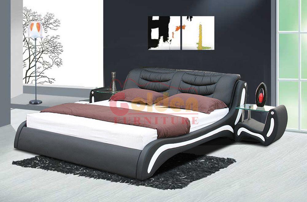 Moderne En Cuir Lits Queen Meubles Lits Moelleux Https App Alibaba Com Dynamiclink Touchid 60607927477 Bedroom Furniture Sets Bedroom Design Furniture