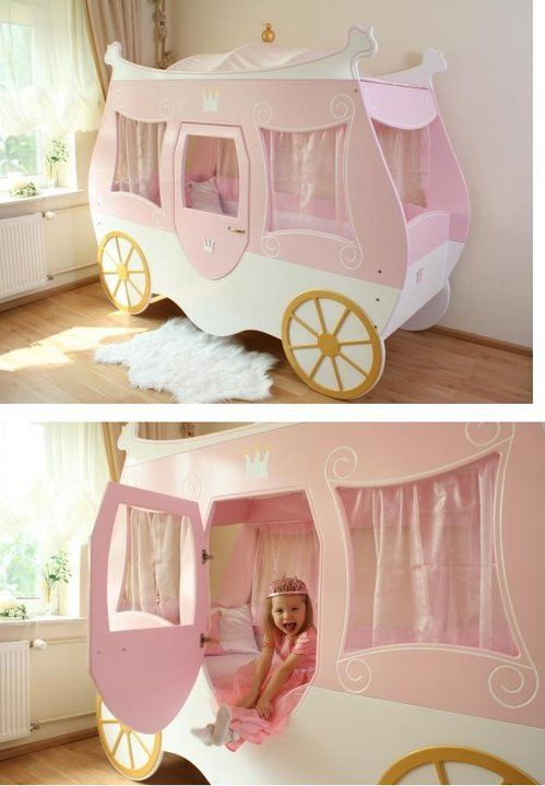 Carriage Bed So Appropriate For My Trincess 3 Toddler Rooms